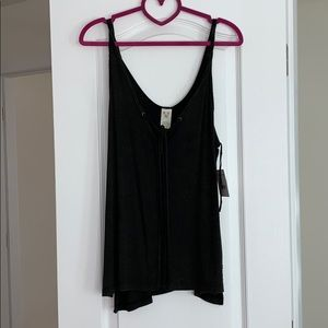 Free People We The Free Size M Tie Tank Super Soft